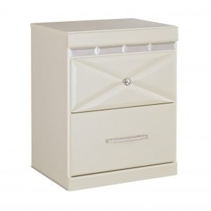 hollywood glam nightstand